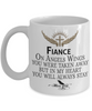 Fiance Angel Wings In Loving Memory Mug Gift Memorial Coffee Cup