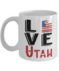 Love Utah State Mug Gift Novelty American Keepsake Coffee Cup