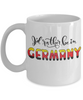 I'd Rather be in Germany Mug Expat German Gift Novelty Birthday Ceramic Coffee Cup