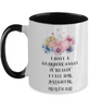 Guardian Angel Baby Daughter Mug Beautiful Angelic Being Floral Two-Tone Cup