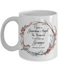 In Remembrance Gift Mug Guardian Angel in Heaven I Call Him My Gramps Grandfather Coffee Cup