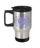 Hoʻoponopono Mandala Travel Mug Hawaiian Prayer for Healing Coffee Cup