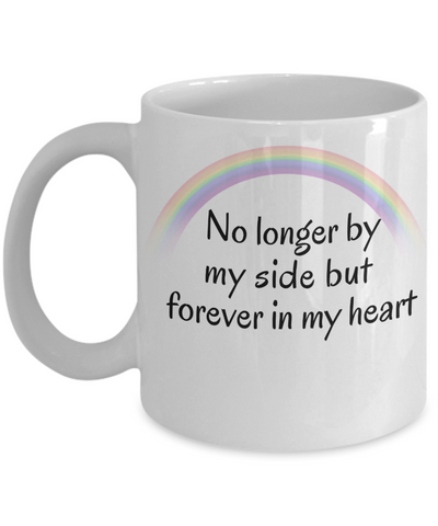 Image of In Memory of My Dog Cat Mug No Longer By My Side Pet Bereavement Memorial Remembrance Gifts
