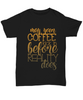 Coffee Please Like My Soul Black Shirt Gift Funny Humor Quote T-Shirt