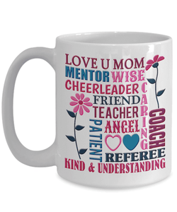 Mom Gift, Love You Mom Quotes, Ideal Anytime Gift For Mom To Show You Care