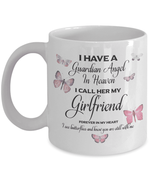 Memorial Gift  Guardian Angel.. Girlfriend Memorial Gifts