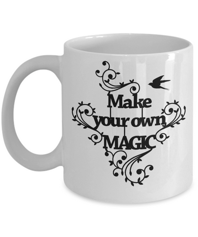 Make Your Own Magic Mug Inspirational Family Day Gift Novelty Birthday Ceramic Coffee Cup