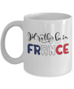 I'd Rather be in France Mug Expat French Gift Novelty Birthday Ceramic Coffee Cup