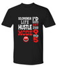 Solopreneur Life Shirt Gift Hustle Mode On Self Employed Occupation Novelty Tee