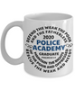 Police Academy Graduate 2020 Mug Psalms 82:3-4 New Police Officer Graduation Gift Congratulations Cup