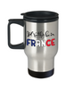 I'd Rather be in France Travel Mug Expat French Gift Novelty Birthday Coffee Cup