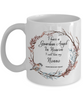 In Remembrance Gift Grandpa Mug I Have a Guardian Angel in Heaven I Call Him My Nonno Forever in My Heart for Grandfather Memory Ceramic Coffee Cup