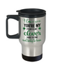 You're My Four Leaf Clover Irish Love You Travel Mug St Patrick's Day Gift Ireland Paddy's Novelty Cup