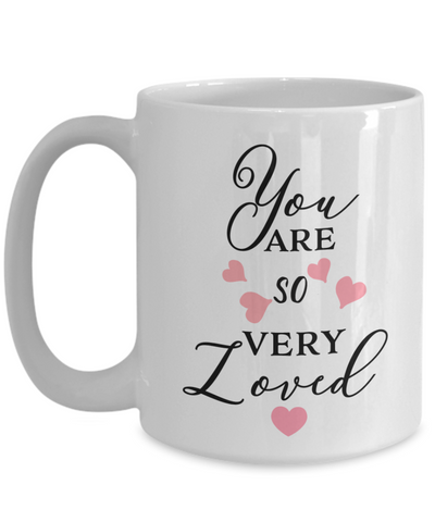 Image of Love You Gifts You Are So Very Loved Grandma Mom Wife Daughter Birthday Mug Gifts