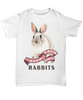 Keep Calm and Love Rabbits Shirt Gift Rabbit Lover Novelty Birthday T-Shirt