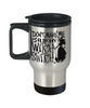 Halloween Don't Make Me Flip Witch Switch Travel Mug Funny Gift Spooky Haunted Novelty Cup