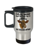 Deja Moo Cow Travel Mug Gift You've Experienced This Bullshit Before Novelty Coffee Cup