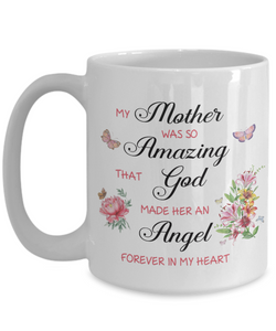 Christian Bereavement Memorial Gift My Mother Was So Amazing...Remembrance Gift