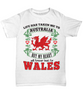 Life Took Me To Australia My Heart Belongs in Wales Shirt Gift Welsh Patriotism Novelty T-Shirt
