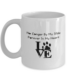 "Pet Memorial Gift ""No Longer By My Side, Forever In My Heart"" For Pet Remembrance"