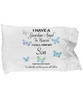 Guardian Angel Son Blue Butterfly Pillowcase Gift Memorial Sympathy and Support