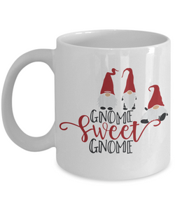 Gnome Sweet Gnome Lover Mug Gift Fun Novelty Coffee Cup