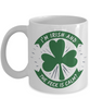 I'm Irish What the Feck is Calm Mug St Patrick's Day Gift Ireland Paddy's Novelty Coffee Cup