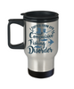 Fisher Gift Travel Mug I Suffer From CFD Compulsive Fishing Disorder Funny Coffee Cup