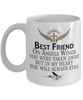 Best Friend Angel Wings In Loving Memory Mug Gift Memorial Coffee Cup