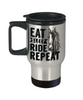 Eat Sleep Ride Repeat Horse Addict Travel Mug Gift Equine Lover  Novelty Coffee Cup