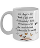 Baby Memorial Gift Mug An Angel in the Book of Life In Loving Memory Infant Loss or Miscarriage Remembrance Ceramic Coffee Cup