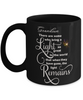 Grandson Memorial Some Bring a Light So Great It Remains Black Mug Gift In Loving Memory Cup