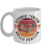 Engineer Retirement Mug Gift Goodbye Tension Hello Pension Retire Happy Good Luck Novelty Cup