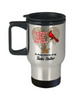 Twin Sister Cardinal Memorial Coffee Travel Mug Angels Appear Keepsake 14oz Cup