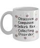 Obsessive Compulsive Selkirk Rex Collecting Disorder Mug Funny Cat Novelty Humor Quotes Unique Cup Gifts