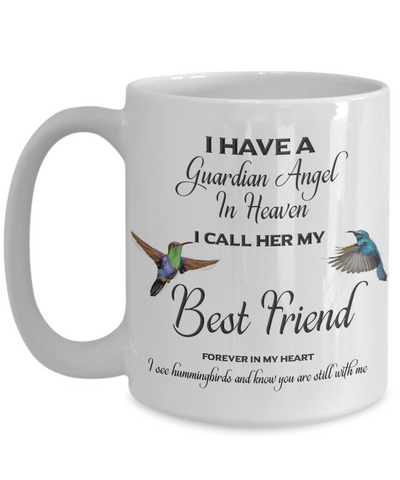 Image of Best Friend Memorial Gift I Have a Guardian Angel ... Best Friend Remembrance Gifts
