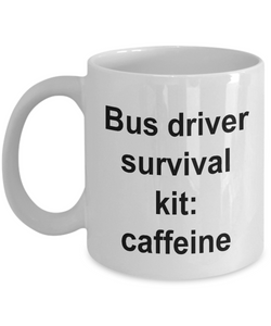 Funny Bus Driver Gifts Bus Driver Survival Kit: Gifts for Women and Men Drivers