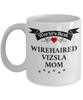 World's Best Wirehaired Vizsla Mom Cup Unique Ceramic Dog Coffee Mug Gifts for Women