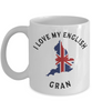 I Love My English Gran Mug Novelty Birthday Gift Ceramic Coffee Cup