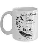 Memorial Gifts Best Friend Your Wings Were Ready... Best Friend Remembrance Gift