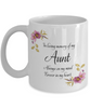 In Loving Memory Aunt Mug Sympathy Gift Remembrance Memorial Coffee Cup