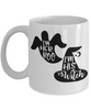 Halloween I'm Her Boo His Witch Mug Funny Gift Spooky Haunted Novelty Coffee Cup