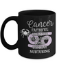 Cancer Zodiac Black Mug Gift Fun Novelty Birthday Coffee Cup