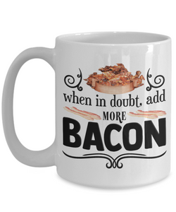Bacon Lovers Gifts For The Bacon Lover In Your Family Funny Bacon Lover Ceramic Coffee Mug Gift