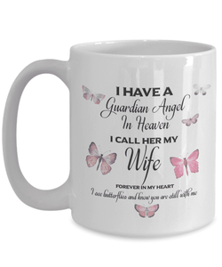 Memorial Gift, I Have a Guardian Angel in Heaven, I Call Her Wife Remembrance Gifts