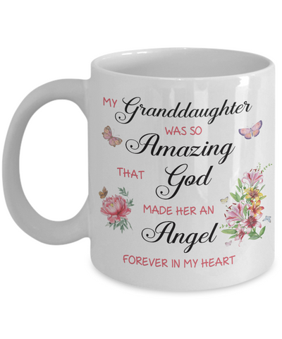 Image of Christian Bereavement Memorial Gift My Granddaughter Was So Amazing...Remembrance Granddaughter