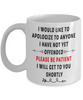 Funny Work Boss Mug Gift I Apologize to Anyone I Have Not Yet Offended Ceramic Coffee Mug