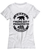 Great Moms Get Promoted to Grandma Shirt New Baby Bear Birth Announcement T_Shirt