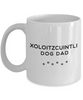 Best Xoloitzcuintli Dog Dad Cup Unique Ceramic Coffee Mug Gifts  for Men