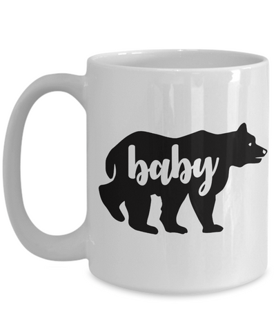 Baby Bear Mug Cute Animal Family Novelty Birthday Gift Ceramic Coffee Cup